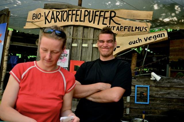 Mützingenta 2013 - Kartoffelpuffer & BioBurger